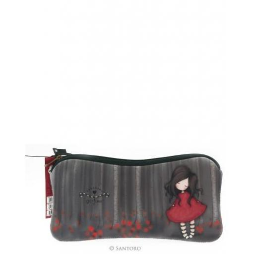 Gorjuss Accessory Case - Poppy Wood