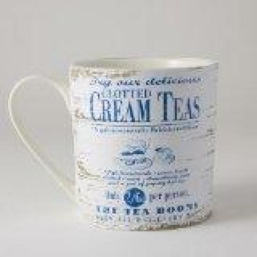 By the Sea Clotted Cream Teas 250ml Mug
