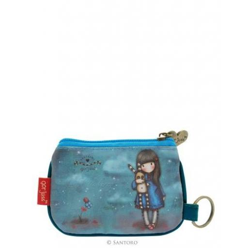 Gorjuss Zip Purse - Hush Little Bunny