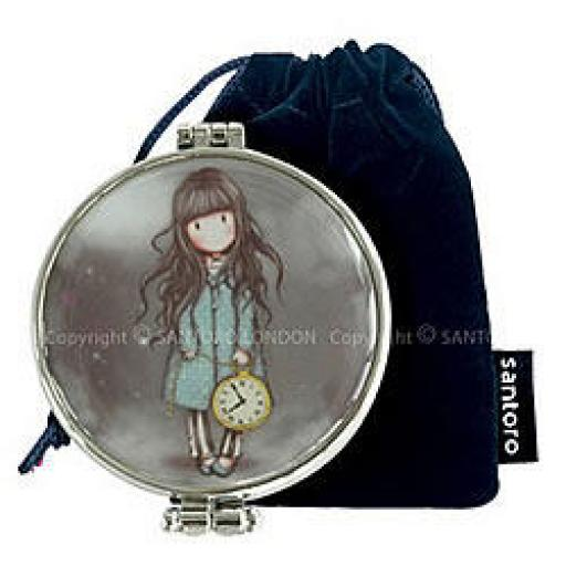 Pocket Mirror and Pouch - The White Rabbit