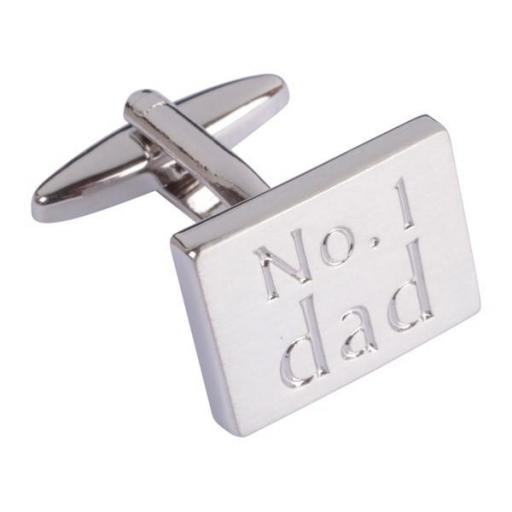 Cufflinks - Number 1 Dad