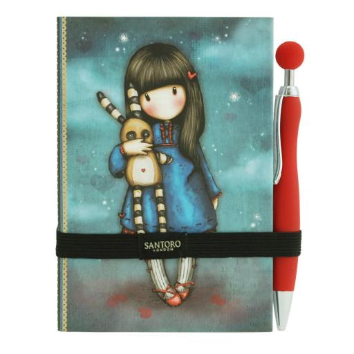 Gorjuss Premium Journal with Pen - Hush Little Bunny