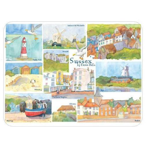 Emma Ball Sussex Placemats (4 pack)