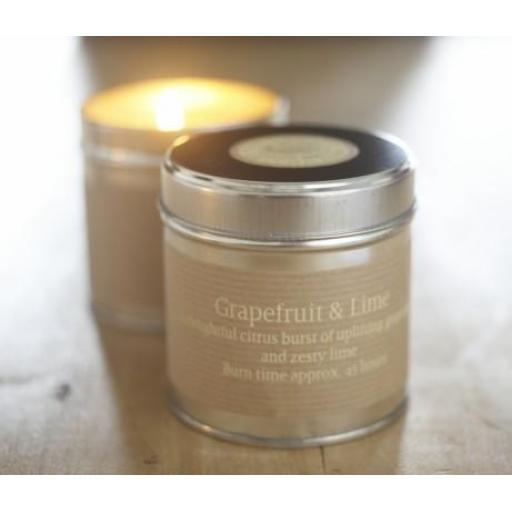 St Eval Candle Company - Grapefruit & Lime Tin