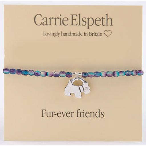 Carrie Elspeth Sentiment Bracelet - Furever Friends