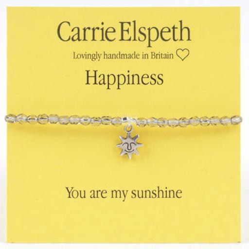 Carrie Elspeth Sentiment Bracelet - Happiness